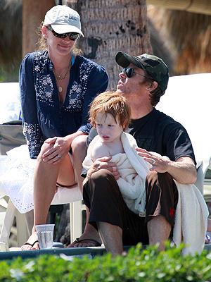 Julia Roberts, Famosos en vacaciones