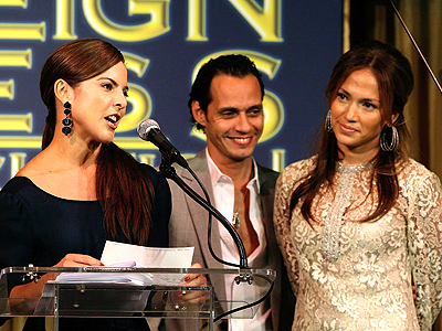 Kate del Castillo, Marc Anthony y Jennifer Lopez