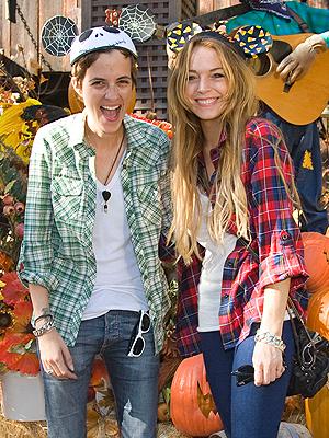 Lindsay Lohan, Samantha Ronson, Famosos en vacaciones