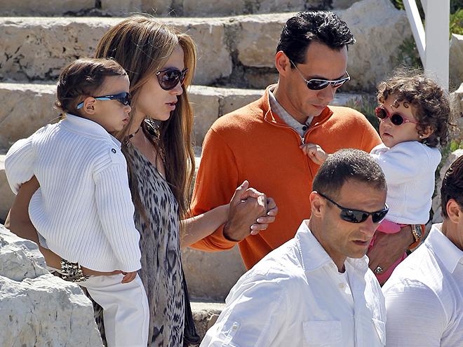 Jennifer López, Marc Anthony, Max, Emme