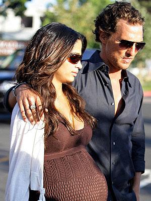 Camila Alves y Matthew McConaughey
