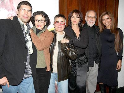 Lucía Méndez,Patricia Reyes Espíndola, Alberto Estrella, Mujeres asesinas
