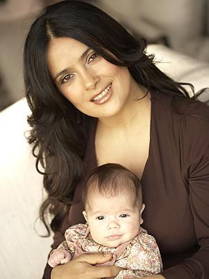 Salma Hayek con hija Valentina Paloma