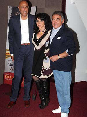 Verónica Castro, Héctor Suárez, Pedro Torres
