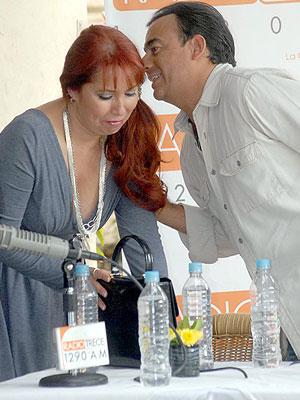 Karla Estrada, Adal Ramones