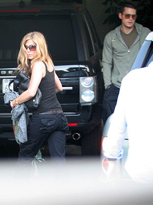 Jenniffer Aniston, John Mayer