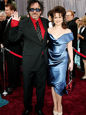 Tim Burton, Helena Bonham-Carter, Desastres en la alfombra