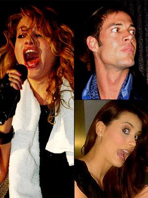 Paulina Rubio, Ricky Martin, Miss Universo