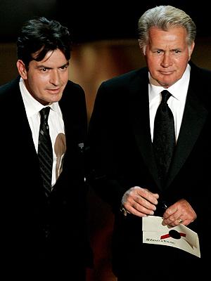Charlie Sheen, Martin Sheen