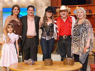 Gaby Rivero, Lalo Rodriguez, Johnny Canales, Diana Reyes, Cristina
