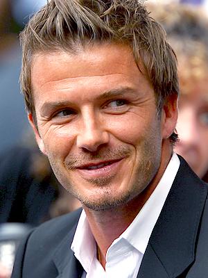 David Beckham, Hombre de poca ceja