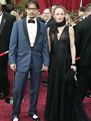Johnny Depp, Vanessa Paradis, Oscar Mishaps