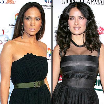 Jennifer Lopez y Salma Hayek