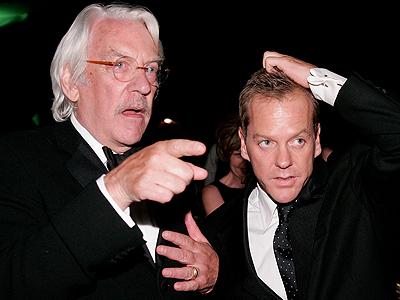Kiefer Sutherland, Donald Sutherland