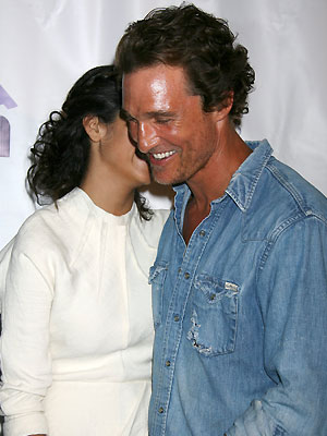 Matthew McConaughey, Camila Álves