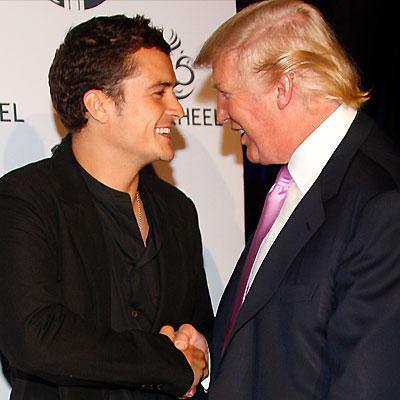 Orlando Bloom, Donald Trump