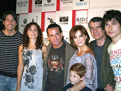 Rafael Amaya, Plutarco Haza, Silvia Navarro, Eduardo España