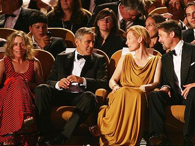 Frances McDormand, George Clooney, Tilda Swinton, Brad Pitt