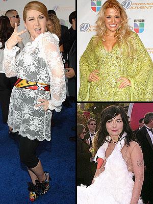 Alicia Villareal, Fanny Lu, Björk, Principal Desastres en la alfombra