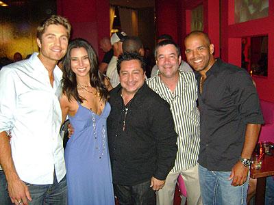 Eric Winter, Roselyn Sanchez, Rafo Muñiz, Amaury Nolasco