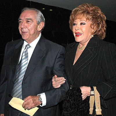 Silvia Pinal, Juan Calderón