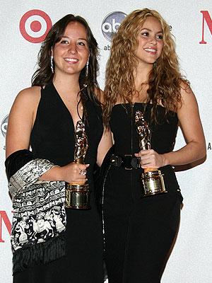 Shakira, Pamela Jiménez