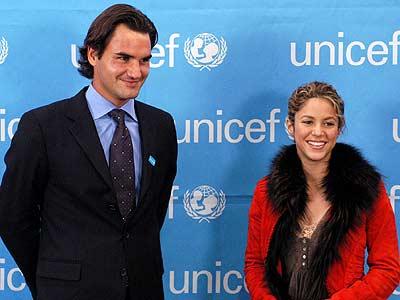 Roger Federer y Shakira