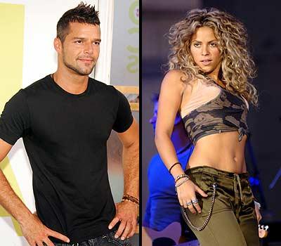 Ricky Martin y Shakira