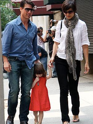 Tom Cruise, Suri, Katie Holmes
