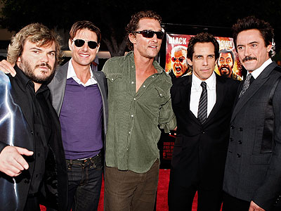 Jack Black, Tom Cruise, Matthew McConaughey, Ben Stiller, Robert Downey Jr.