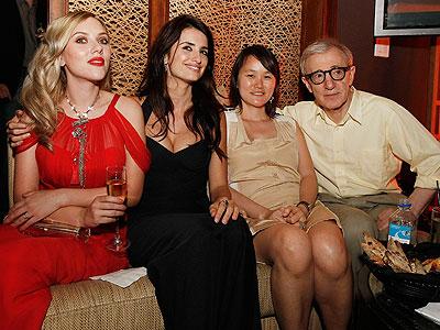 Scarlett Johansson, Penélope Cruz, Woody Allen