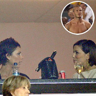 Victoria Beckham, Eva Longoria, David Beckham