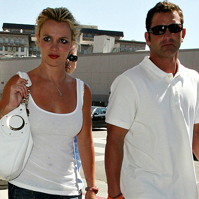 Britney y Bryan Spears