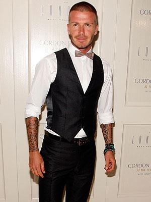 David Beckham, Mejor y peor vestidos
