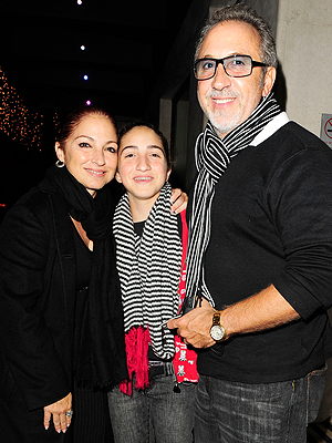 Gloria, Emily, Emilio Estefan