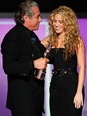 Edward James Olmos, Shakira