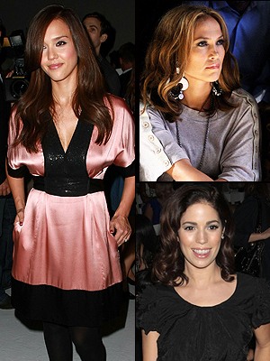 Jessica Alba, Jennifer López, Ana Ortiz