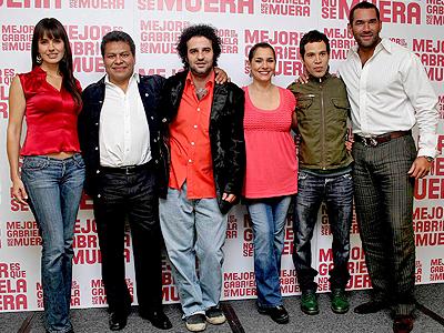 Alejandra Barrod, Dagoberto Gama,Sergio Umansky, Gabriela Roel, Miguelk Isaac, Eduardo Santamarina