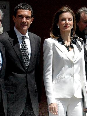Antonio BAnderas, Letizia Ortiz