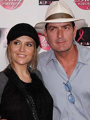 Brooke Mueller, Charlie Sheen, Bodas 2008