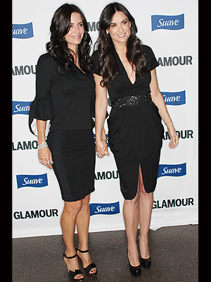 Courteney Cox-Arquetee, Demi Moore