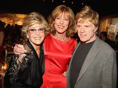Jane Fonda, Christine Lathi, Robert Redford