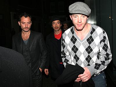 Jude Law, Robert Downey Jr., Guy Richie