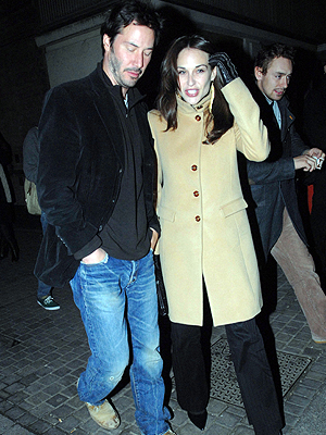 Keanu Reeves, Claire Forlani