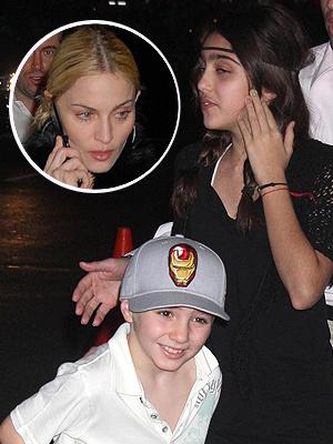 Madonna, Rocco, Lourdes María