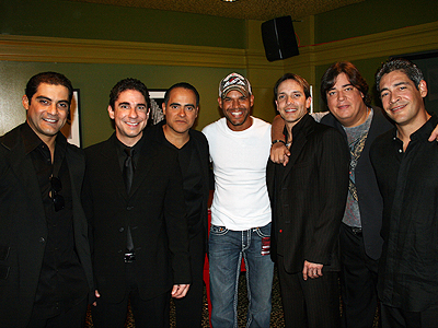 Charlie, Ricky, Miguel, Amaury Nolasco, René, Ray y Johnny