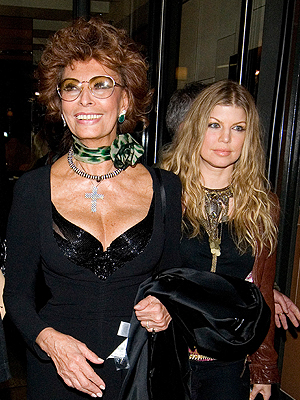 Sofia Loren, Fergie