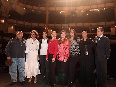José Antonio Morales, Elsa Aguirre, Nina Serratos, Irasema Terrazas, Yvonne Garza, Regina Orozco, Héctor Bonilla