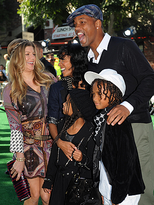 Will Smith, Fergie, Jada Pinkett Smith