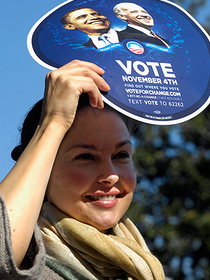 Ashley Judd, Presidente